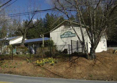 motel from SW corner